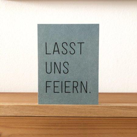 Wohngoldstueck_Postkarte Papier Ahoi Lasst uns feiern