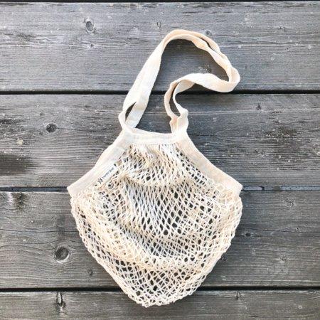 Wohngoldstueck_Turtle Bags Einkaufsnetz Beige langer Henkel