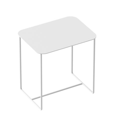Wohngoldstueck_Weld und Co Beistelltisch Solid 02 Weiß