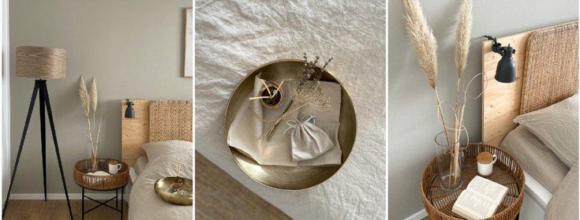 Wohngoldstueck_Tchibo Afrika Kollektion Wohngoldstück Schlafzimmer