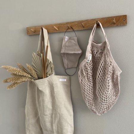 Wohngoldstueck_Turtle Bags Einkaufsnetz Mushroom kurzer Henkel