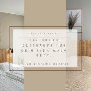 Wohngoldstueck_IKEA Hack Malm Bett Rückwand