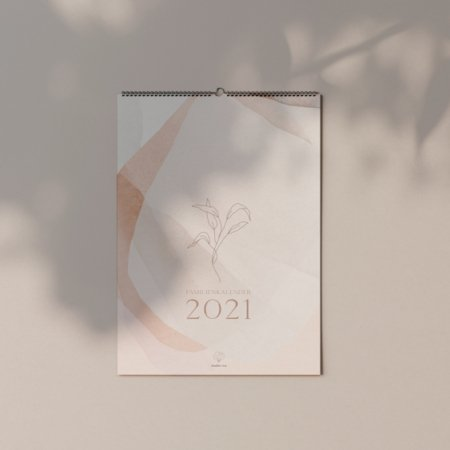 Wohngoldstueck_Familienkalender 2021 studiovea