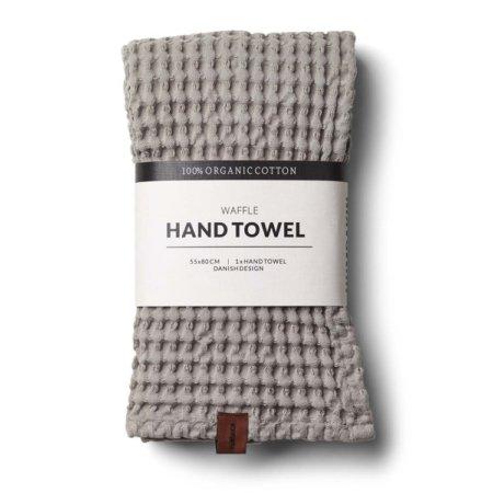 Wohngoldstueck_Humdakin Hand Towel Waffle Stone