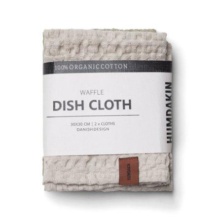 Wohngoldstueck_Humdakin Dishcloth Waffle Light Stone Oak