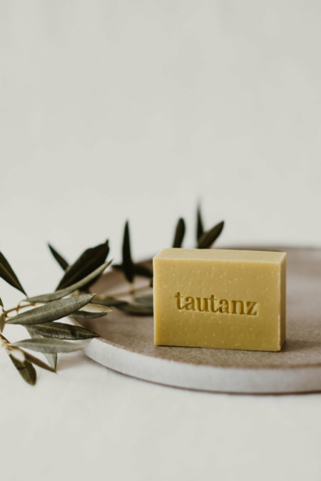 Wohngoldstueck_Seife Tautanz Olive Oil